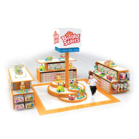 store visualization baby Einstein kids ii in-line side counter