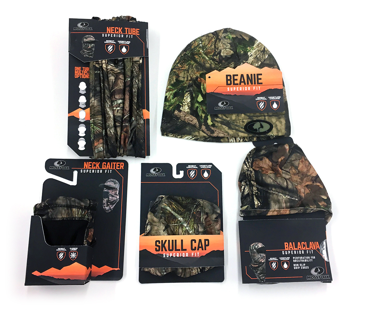 Outdoor Cap primary packaging clothing